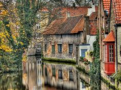 the houses on the river, France - Pixdaus