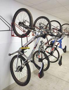 Rastrelliera per biciclette a muro per edifici pubblici - WALLRACK™ - CycleSafe