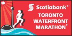 I will see you October - Scotiabank Toronto Waterfront Half Marathon Marathon Logo, First Marathon, Marathon Running, Running Race, Running Workouts, Toronto Waterfront Marathon, Half Marathon Training Plan, Event Registration, Training Schedule