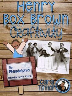 Henry Box Brown Black History Month