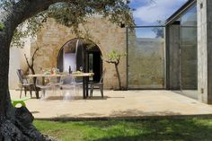 Glass-cube + Trulli - Picture gallery