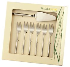 Belleek 7pce Pastry Set €22 at www.tierneysgifts.com