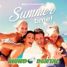 El verano ya llegó y no hay nada que luzca más que una sonrisa hermosa :D . >Preparate para deslumbrar!< . #Verano #Sonrie #MundoDentalPty #DentistaEnPanama