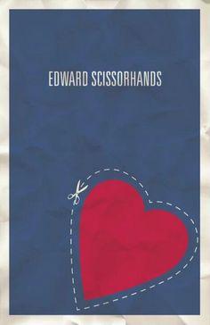 Edward Scissorhands - Minimalist Movie Posters
