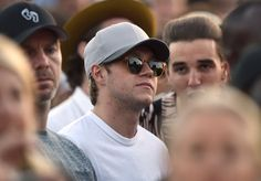 Niall today at the British summertime festival in London