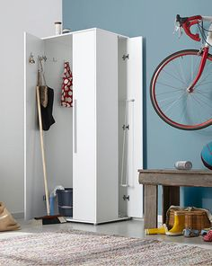 Storage closet (sold by Tschibo.de - Unfortunately only available in Germany) this would be great for my laundry area in The basement