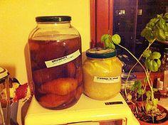 Gruszkówka & imborówka  (wstawione 25-STY-2013) Pickles, Cucumber, Salsa, Jar, Food, Essen, Salsa Music, Meals, Pickle