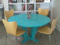kids craft table by StudioBluDesign on Etsy, $495.00