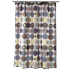 """http://www.target.com/p/dot-swirl-shower-curtain-70x72/-/A-13792570#prodSlot=large_4_20    Dot Swirl Shower Curtain - 70x72"""""""