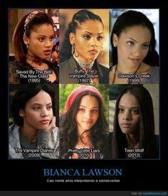 Bianca Lawson, la eterna adolescente - Casi veinte años interpretando a adolescentes