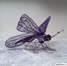 fjäril,pyssel,inredningsdetalj,konstverk,luffarslöjd