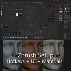 Glauco Longhi personal Zbrush setup free