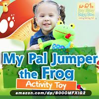 Enter to win the My Pal Jumper the Frog Toy in our Last Minute Holiday #Giveaway 2015 (8 winners & Over $300 in Prizes) | My Mom Spark Reviews
