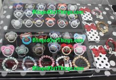 Custom Bling Binkys/Pacifiers NFL NBA MLB GIRLS BOYS order your!