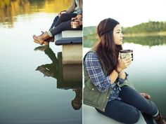 boots + flannel + jeans