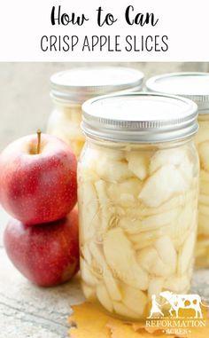 Canning Crisp Apple Slices... #canning #homestead #homesteading