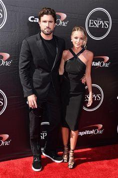 Brody Jenner and Kaitlynn Carter arrive at the ESPY Awards at the Microsoft Theater in Los Angeles on July 15, 2015.