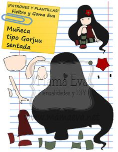 Plantillas Patrones Muñecas Gorjuss Goma Eva Fieltro Moldes Muñecas Gorjuss Fomi Fieltro Free Gorjuss Dolls Templates Felt Foam Modeles Poupines Gorjuss Gratuit