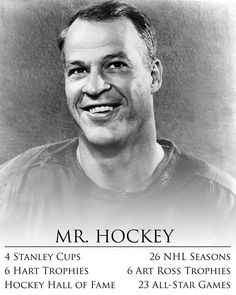 Goodbye to a Detroit Red Wings and NHL legend.