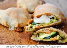 Focaccine sfiziose con zucchine veloci vickyart arte in cucina