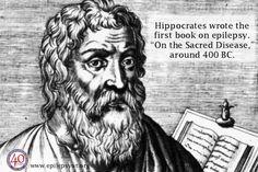 "Get Seizure Smart Fact: Hippocrates wrote the first book on epilepsy, ""On the Sacred Disease,"" around 400 B.C.  For more information please visit our website and other social media platforms! www.epilepsyut.org www.facebook.com/epilepsyutah www.twitter.com/epilepsyutah"