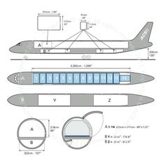 McDonnell Douglas DC-8 54 55F freighter diagram (ACS http://www.aircharterservice.com/)