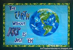 Great Earth Day art project