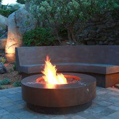 Concrete Outdoor Fire Pits in San Francisco, CA   Mark Concrete