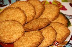 Kokosanki, chrupiące kokosowe ciasteczka