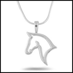 Imagine yourself with this cute retro horse themed necklace <3