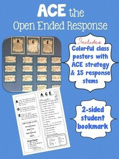 aces strategy for constructed response rubric