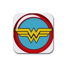 Wonder woman jlh wallpaper by superman8193 on deviantart wonder 3d wonder woman logo rubber coaster square pronofoot35fo Gallery