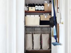 How to Launder and Fold Everything in Your Linen Closet via @MyDomaine