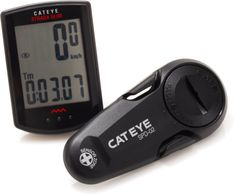 The CatEye Strada Slim bike computer delivers all useful speed and distance data in a sleek package.