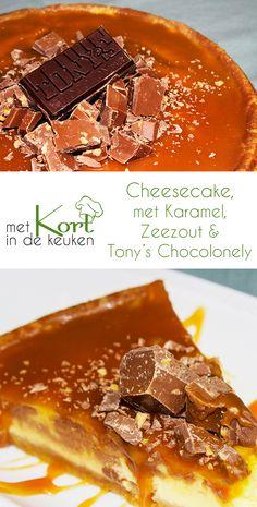 Cheesecake met karamel