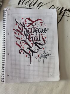 Calligraphy pack 2 / by WLK , via Behance