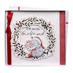 Girlfriend Me to You Bear Giant Boxed Christmas Card £14.99
