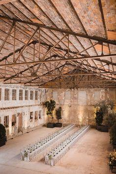 La Estación un espacio único para bodas de estilo industrial – Cristina & Co. wedding planner