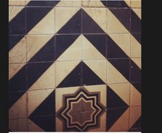 Floor pattern.