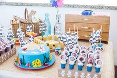 Festa infantil Ninoca na praia 1