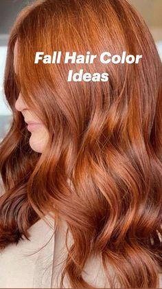 Red Hair, Brown Hair, Medium Hair Styles, Short Hair Styles, Aveda Hair Color, Corte Y Color, Fall Hair Colors, Hair Highlights, Hair Care
