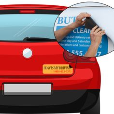 Creating Creative Magnetic Bumper Stickers Magnetic Bumper Stickers - Custom car magnet bumper stickers