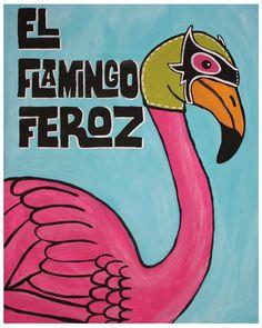 El Flamingo Feroz by Studio Longoria
