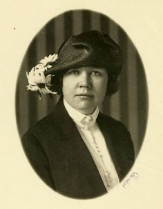 Laura's daughter Rose Wilder Lane.  --Photo from the collection of the Hoover Library (RWL #44)