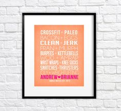 Hey, I found this really awesome Etsy listing at https://www.etsy.com/listing/164334782/crossfit-couple-friends-8x10-custom-art