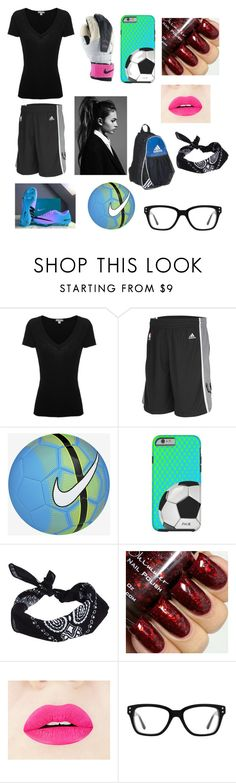 """""""I only place my soccer case on game days"""" by prinzezz-lei on Polyvore featuring James Perse, adidas, NIKE, ASOS and Converse"""