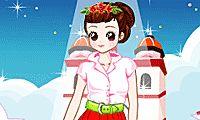 Dress up Audrey Hepburn the famous actress!