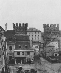 München: Nach Abriss des Turmes (1857)