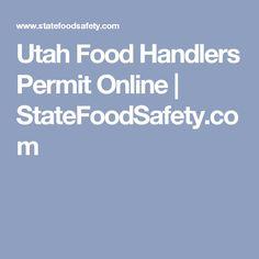 Utah Food Handlers Permit Online | StateFoodSafety.com