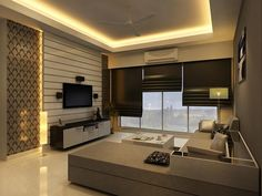 9 Sensitive Tips: False Ceiling Home Dining Rooms false ceiling design double height.False Ceiling Ideas With Wood wooden false ceiling bedrooms. False Ceiling Living Room, Bedroom Ceiling, Bedroom Lighting, My Living Room, Living Room Decor, Design Hotel, House Design, Door Design, Wall Design